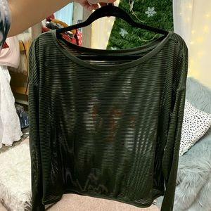 Green lululemon long sleeve